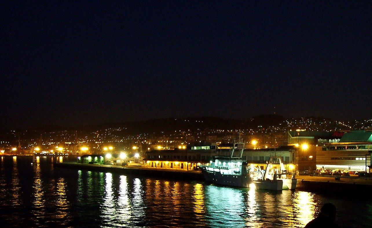 Noche rubia golondrina en Vigo